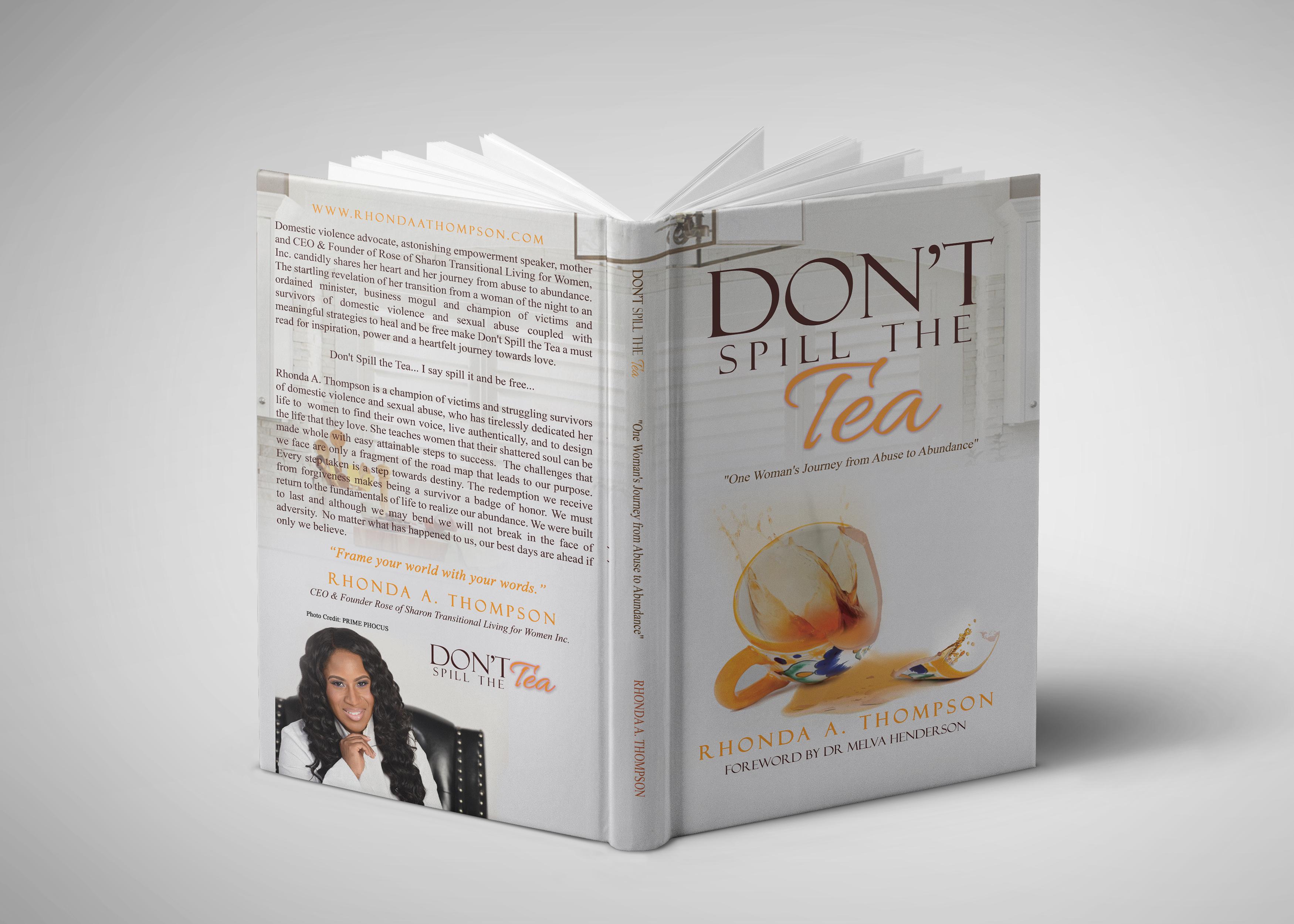 Don't Spill The Tea Inspirational Book